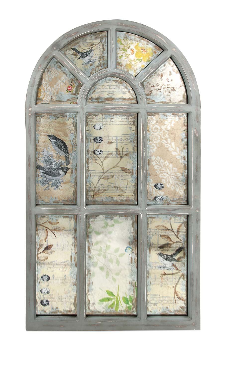 IMAX Leverne Antiqued Wall Mirror