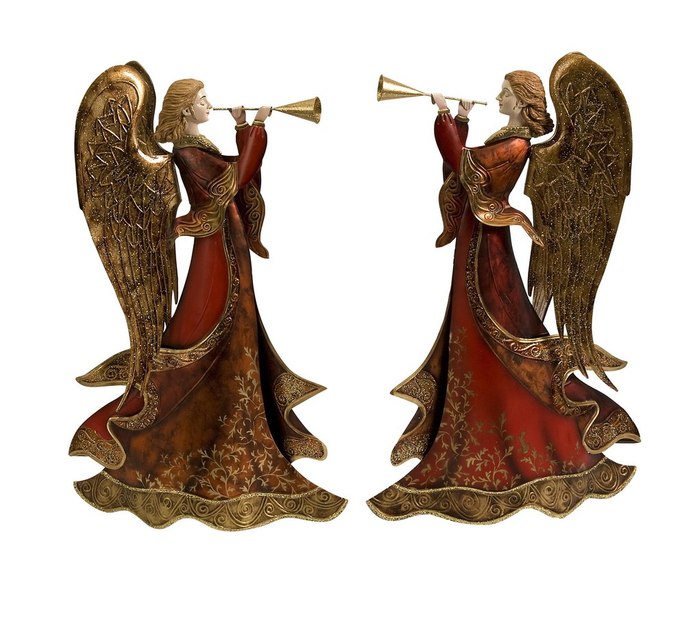 Trumpet Red Angels - Set of 2 - IMAX