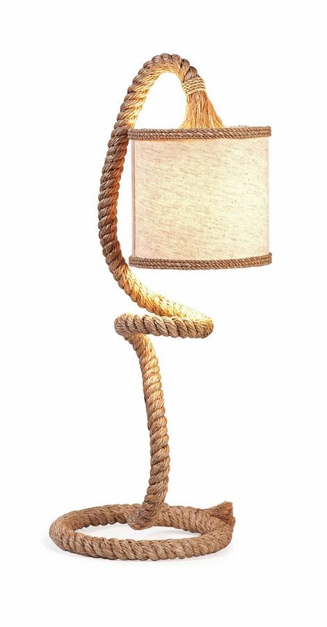 IMAX Binnacle Rope Table Lamp