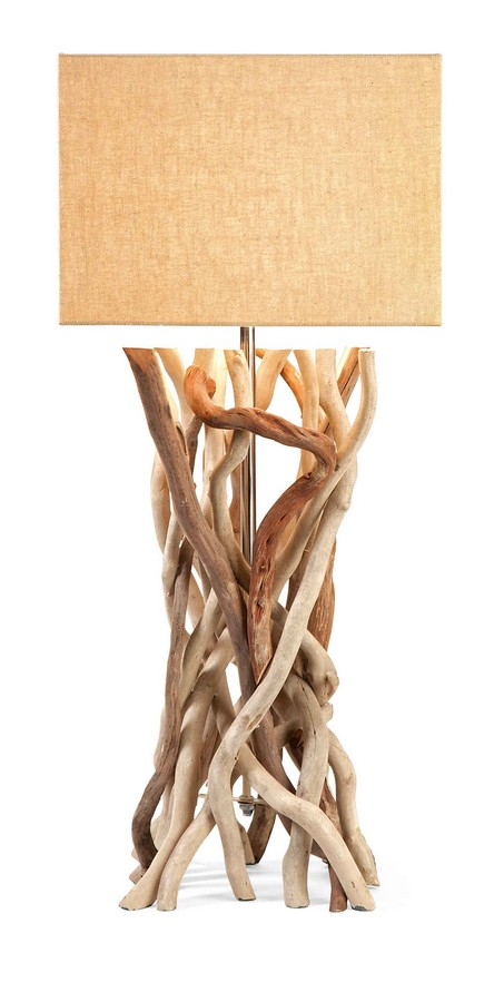IMAX Explorer Drift Wood Table Lamp