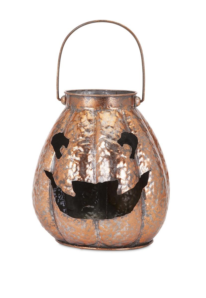 IMAX Ronan Copper Jack O Lantern