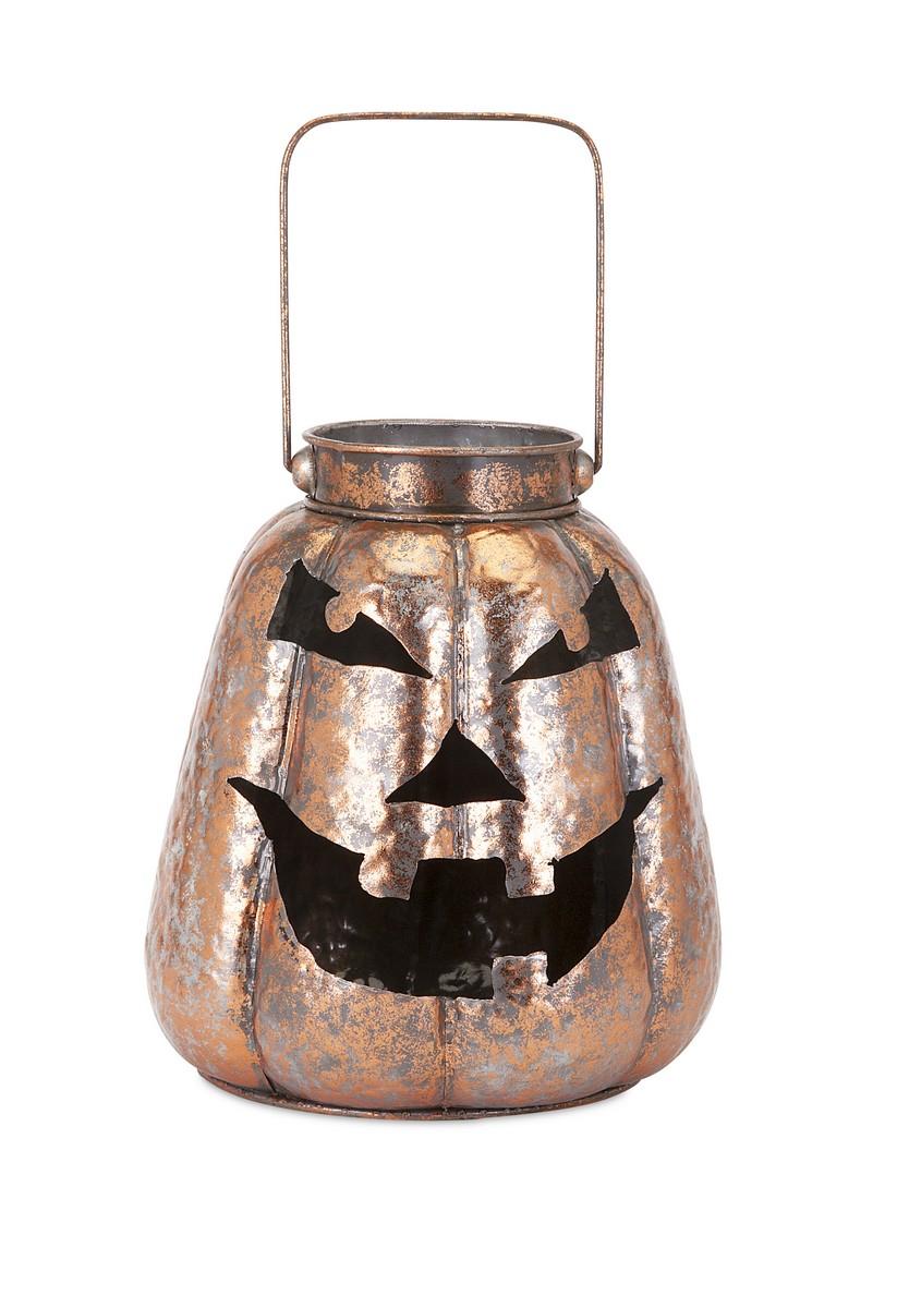 IMAX Rocco Copper Jack O Lantern
