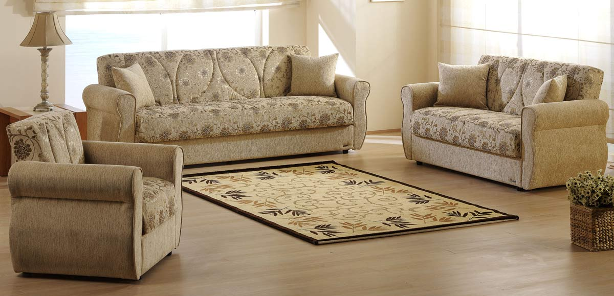 Istikbal Melody Sofa Collection Yasemin Beige 19147 Set