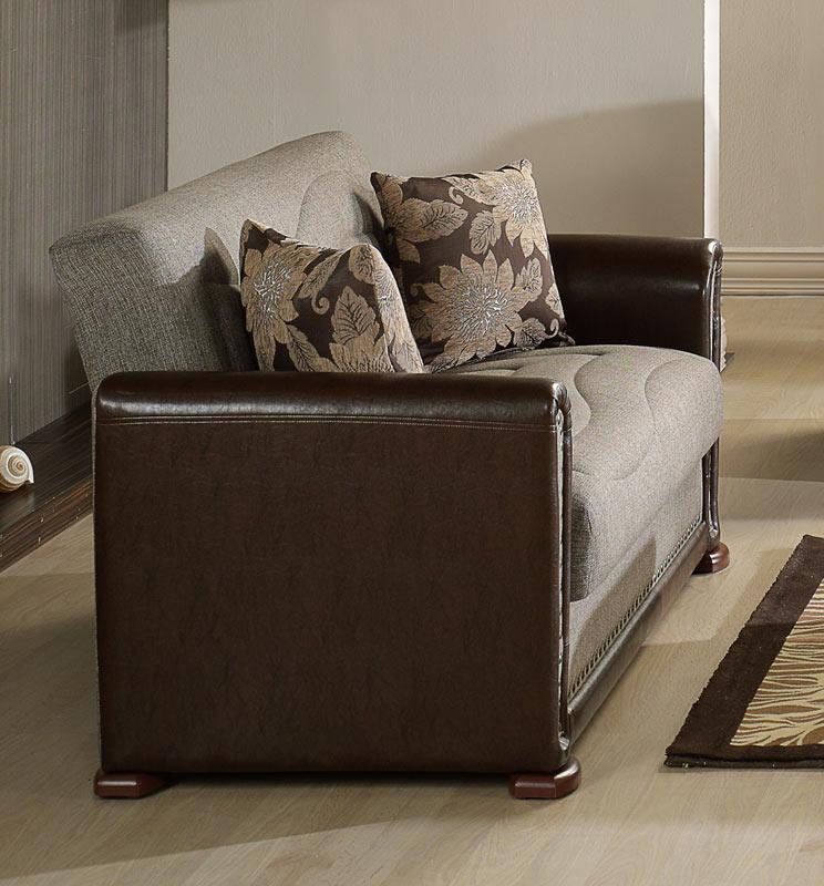 Istikbal Alfa Living Room Set - Redeyef Brown