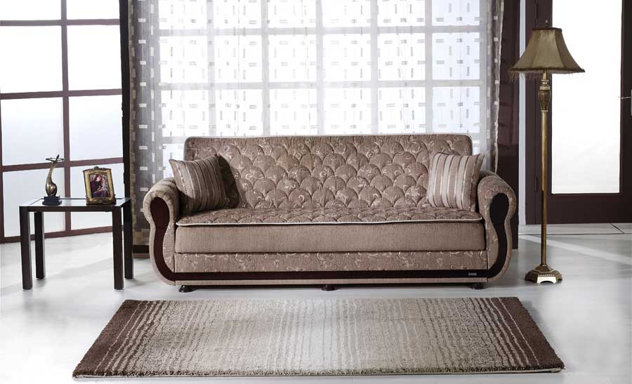 The Argos Sofa by Istikbal is a beautiful piece in Begum Brown fabric