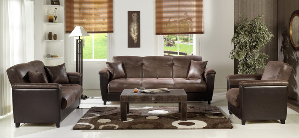 Istikbal Aspen Living Room Set Chocolate Aspen Set N0176 At