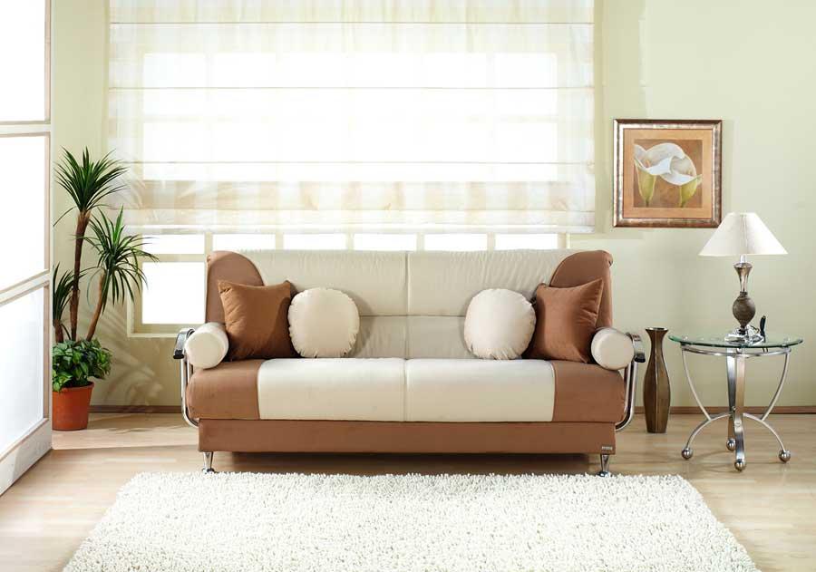 Istikbal Best Sofa Rainbow Beige Brown N0135 S Best At