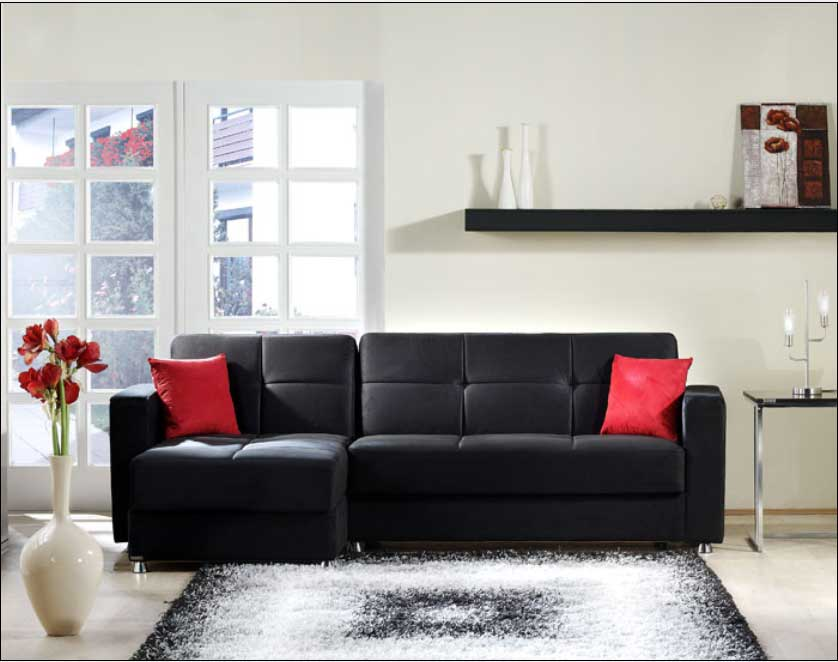 Istikbal Elegant Sectional - Rainbow Black