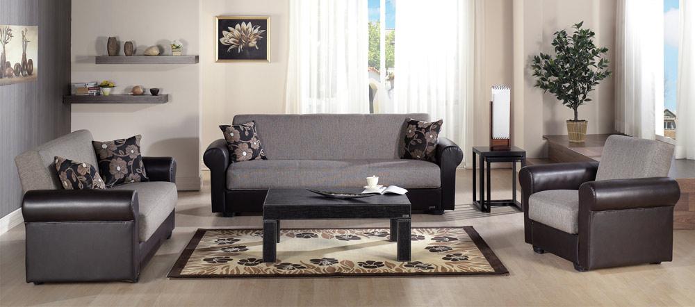 Istikbal Enea Living Room Set Redeyef Brown Enea Set S1087 At