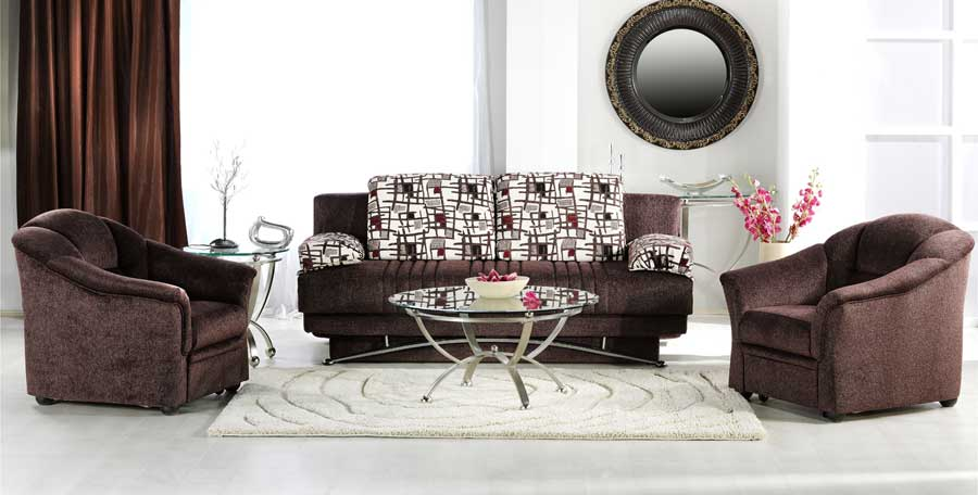 Istikbal Fantasy Sofa Collection - Aristo Burgundy