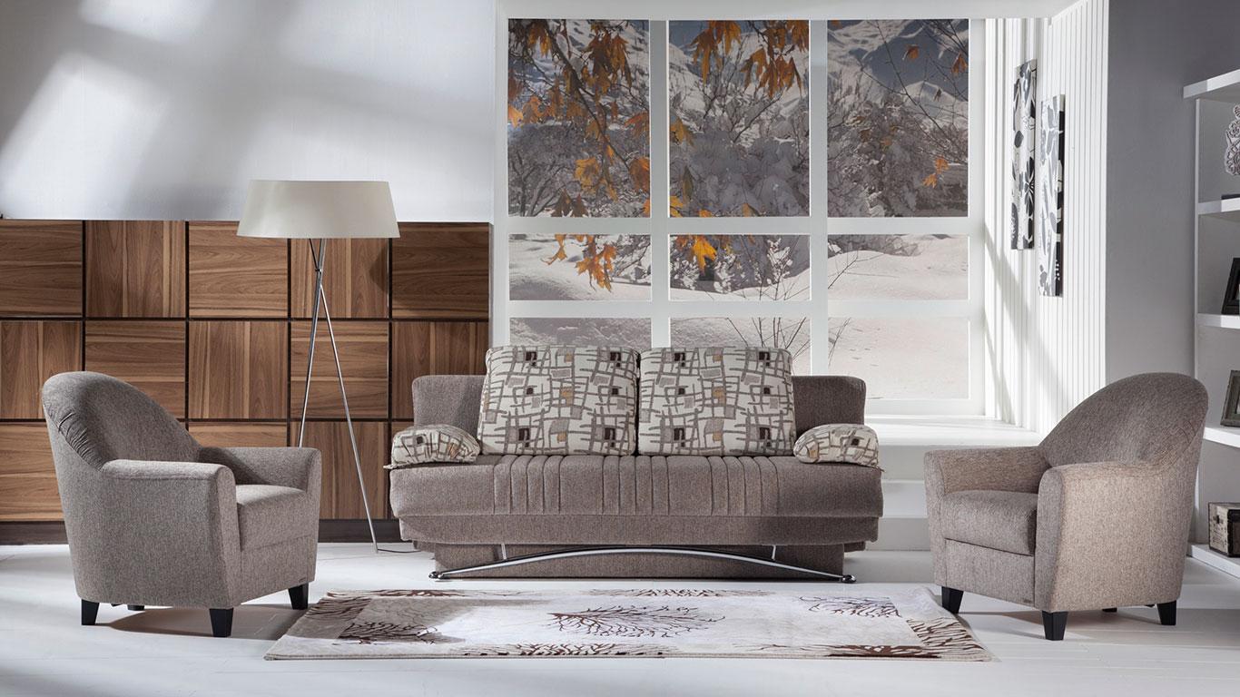 Istikbal Fantasy Sofa Collection - Aristo Brown