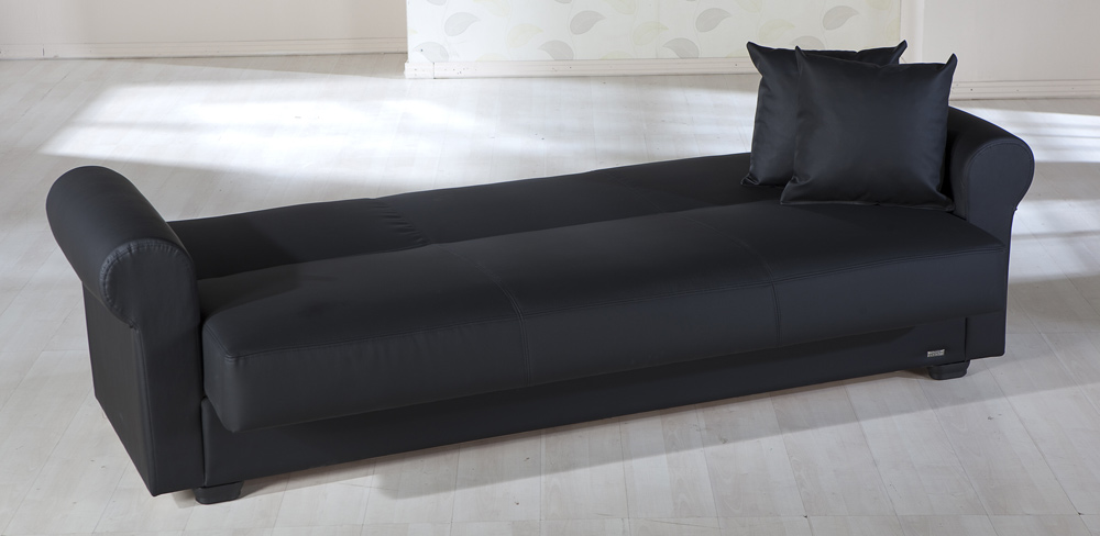 Istikbal Floris Sleeper Sofa - Escudo Black