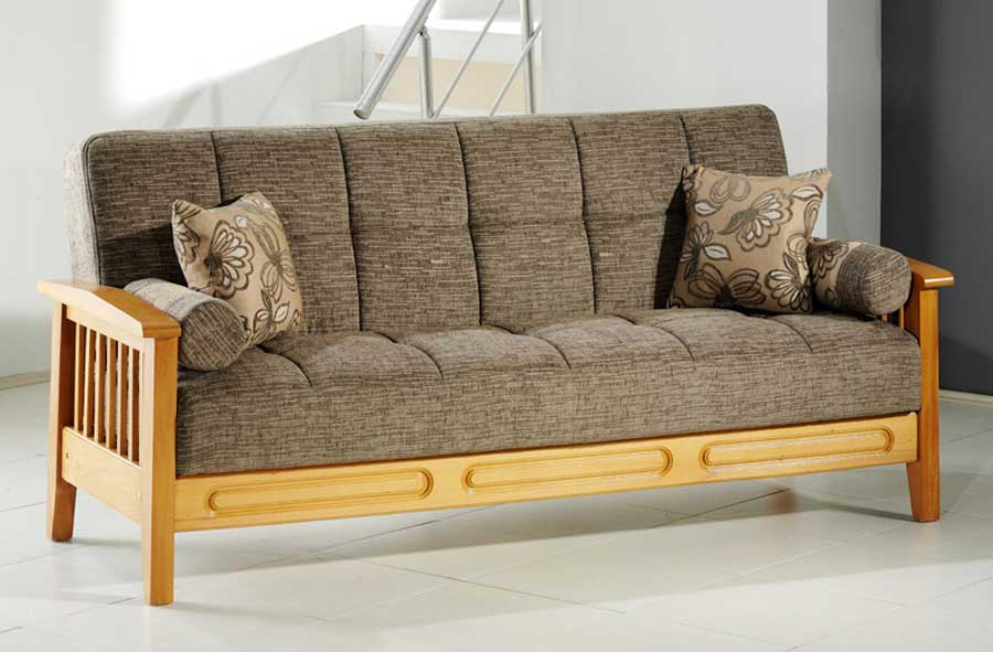 Fantasy Queen Convertible Sofa Bed In Best Vizon By Istikbal