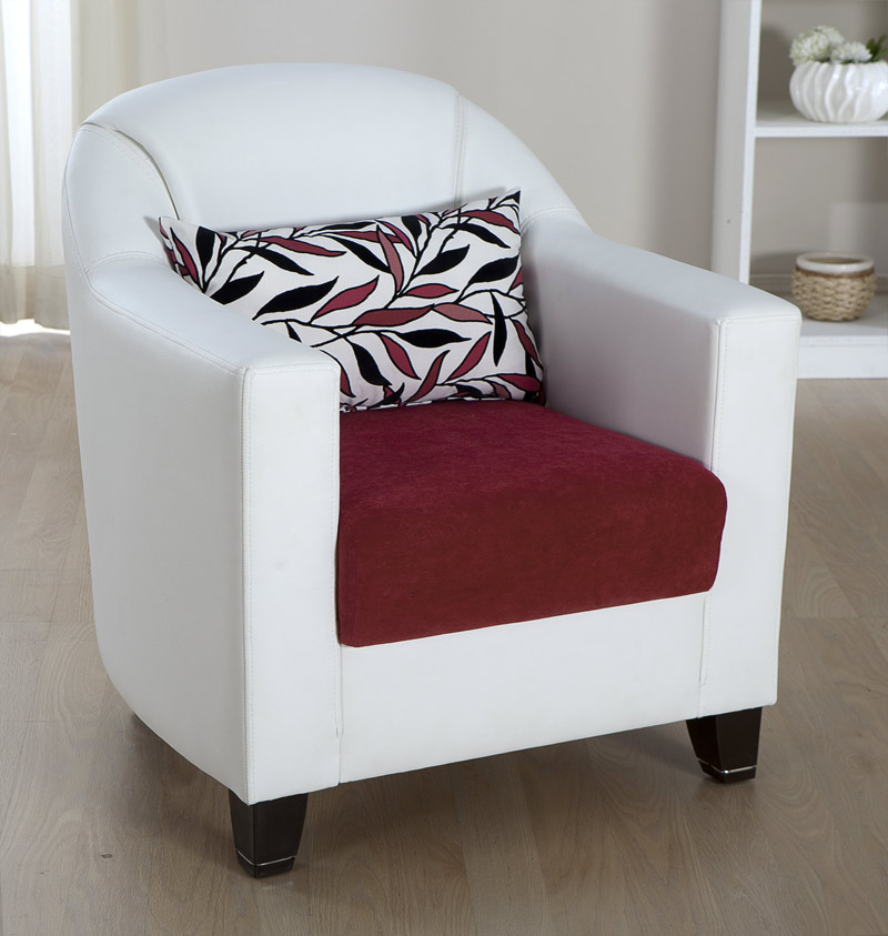 Istikbal Ideal Arm Chair - Phaselis Pink Ideal-A-M0207
