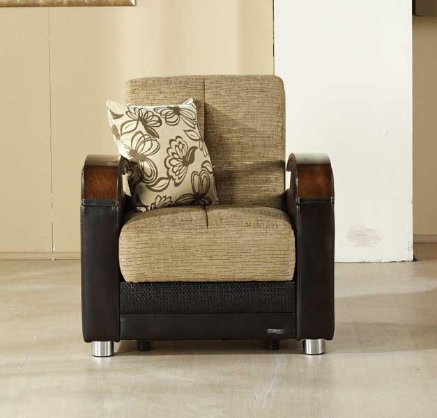 Istikbal Luna Chair - Fulya Brown 18132-C-Luna