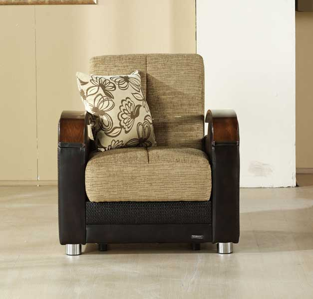 Istikbal Luna Chair - Fulya Brown