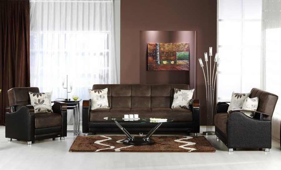 Istikbal Luna Sofa Collection - Chocolate