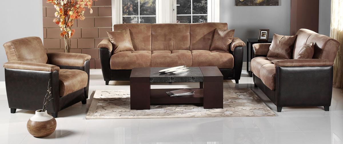 Magnificent Istikbal N Set Asp Aspen Sofa Collection Mocha Product Photo