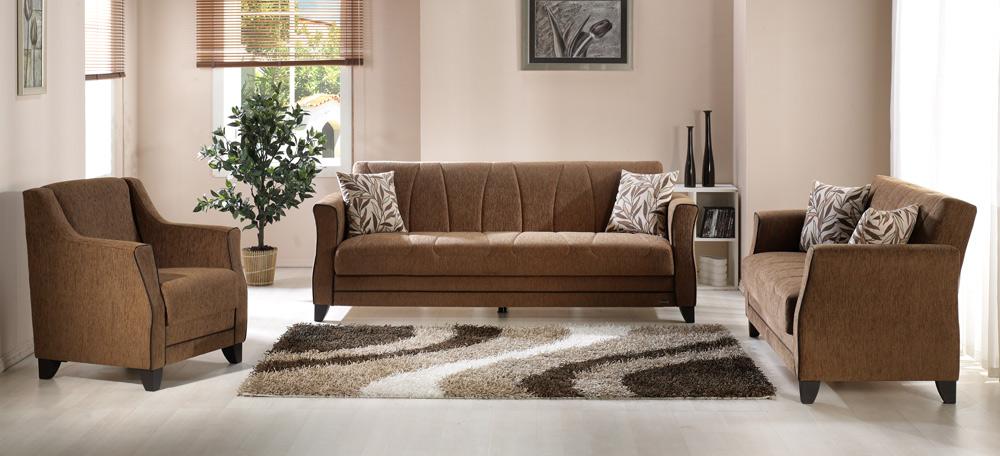 Istikbal Polaris Living Room Set Porto Brown Polaris Set M0058 At