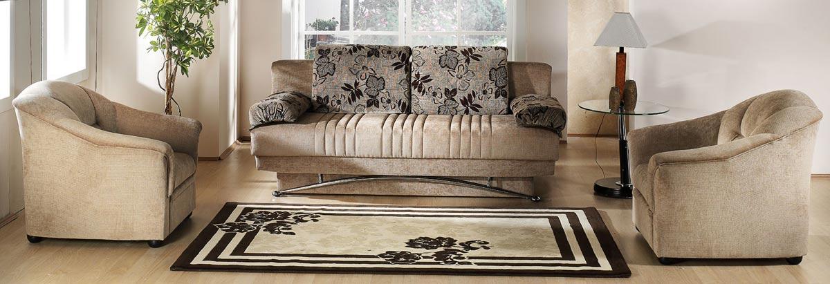 Istikbal Fantasy Sofa   Benja Light Brown