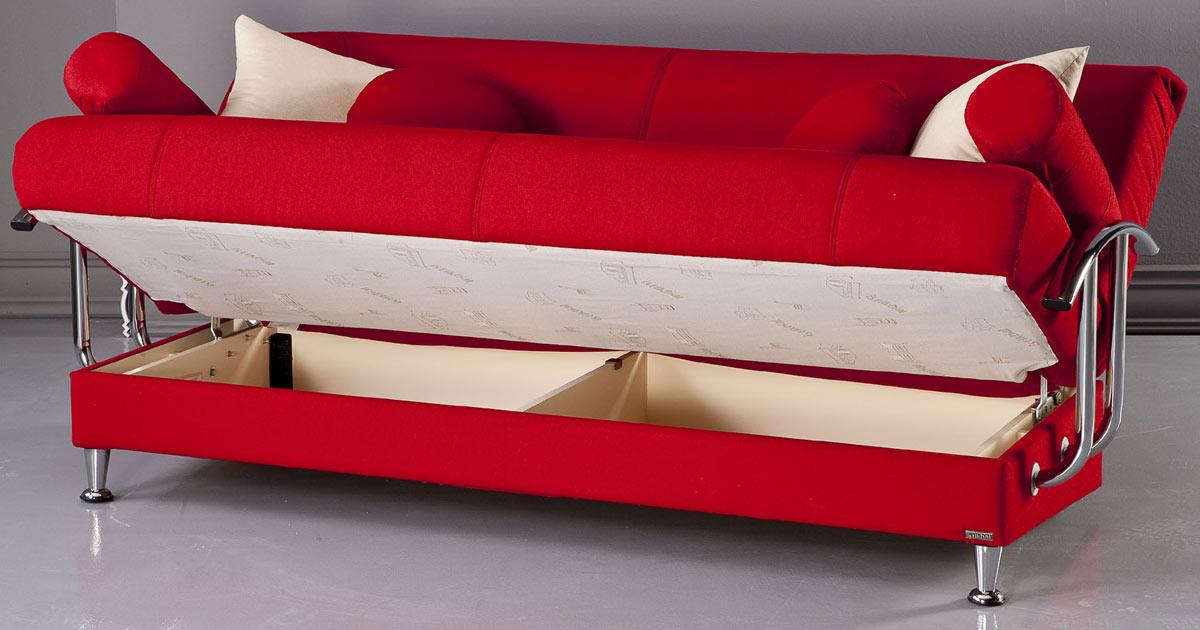 Istikbal Best Sofa - Tetris Red S1102-S-Best at Homelement.com