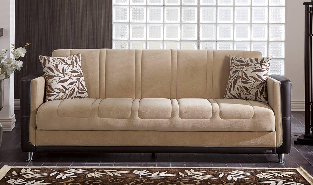 Istikbal Toledo Sleeper Sofa Phaselis Cream