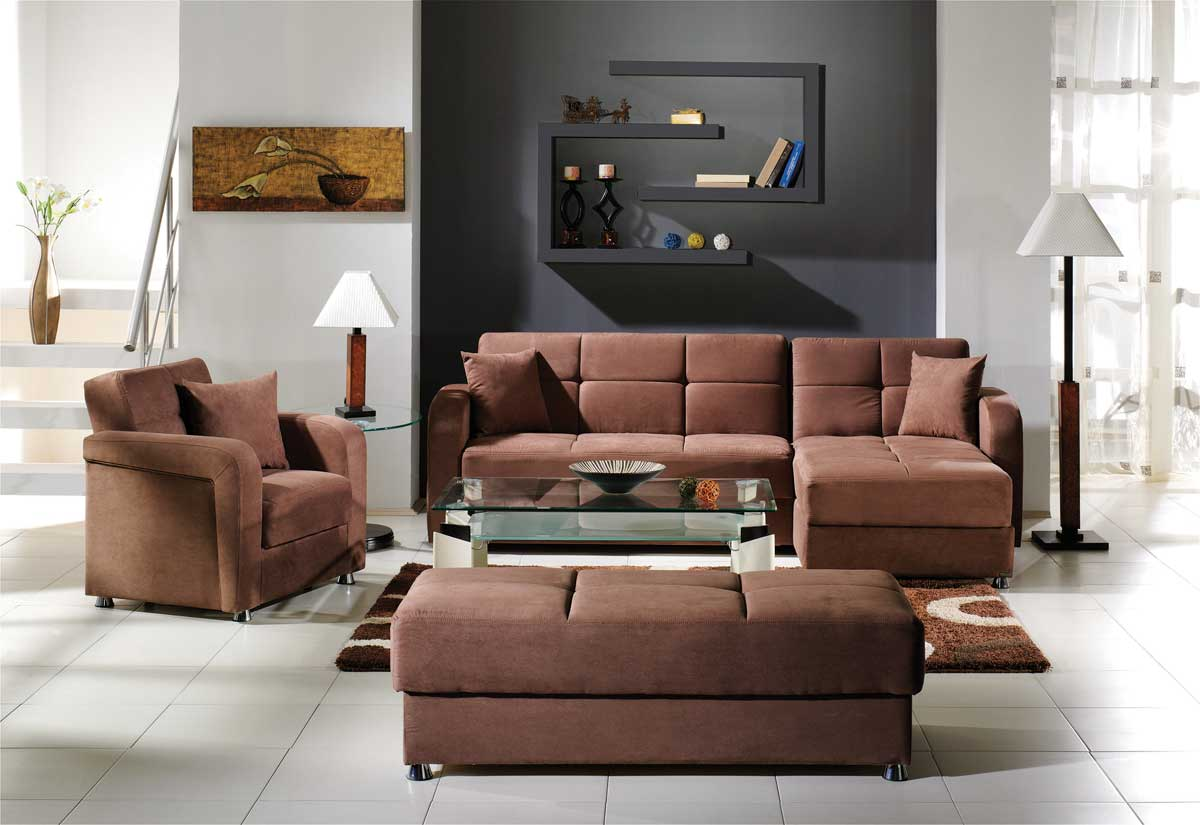 Istikbal Vision Sectional Collection - Rainbow Truffle