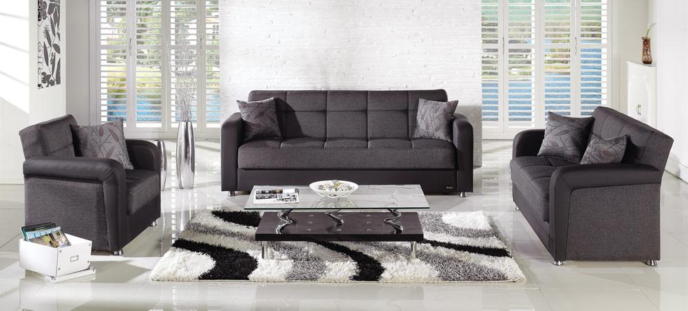 Istikbal Vision Living Room Set Astoral Fume Vision Set S1194 At