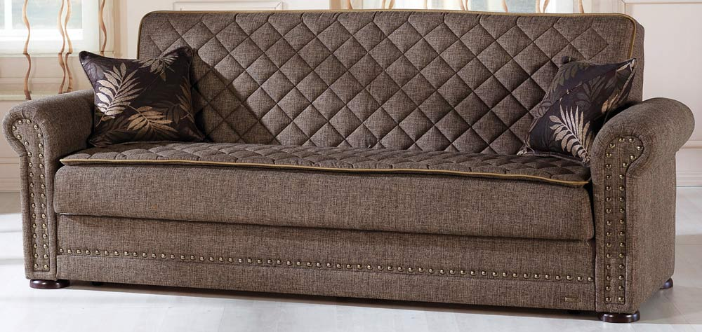 Western Sleeper Sofa - Terapy Light Brown - Istikbal - Sunset