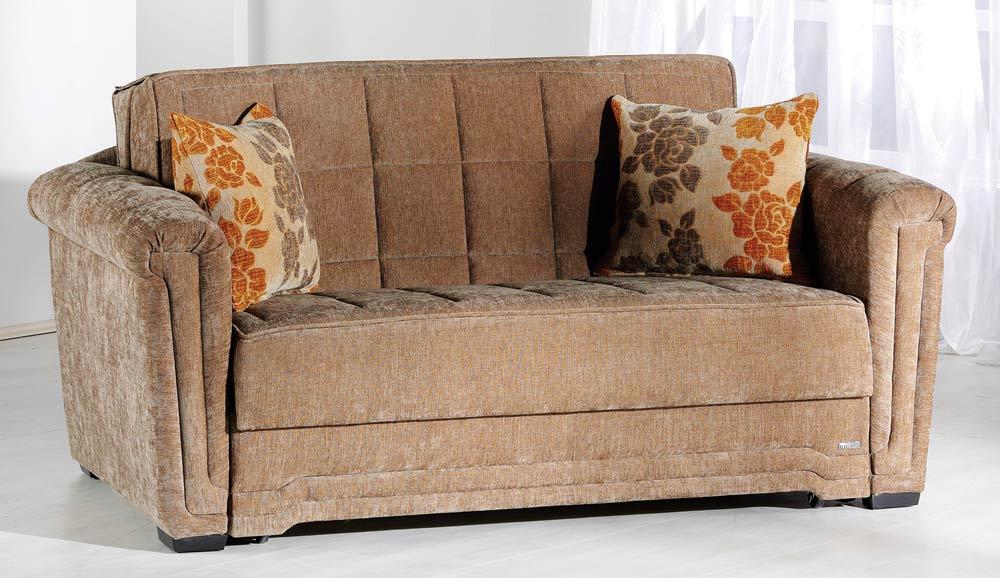 Istikbal Victoria Sofa Collection Rosalinda Brown S1035