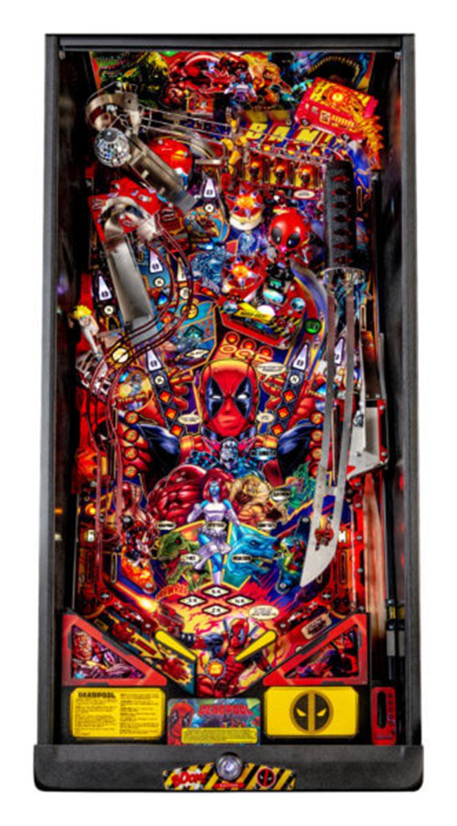Ultimate Pinball Deadpool Premium Pinball Machine