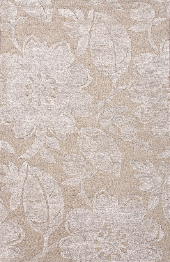 Jaipur Blue Bouquet BL118 Dark Sand Area Rug