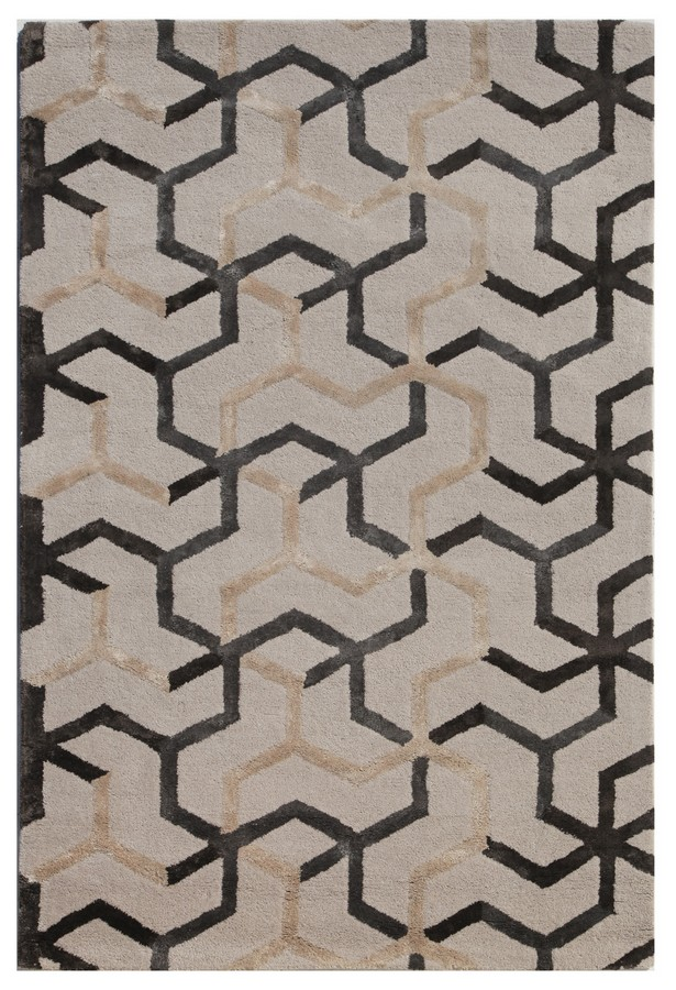 Jaipur Blue Addy BL125 Antique White Area Rug