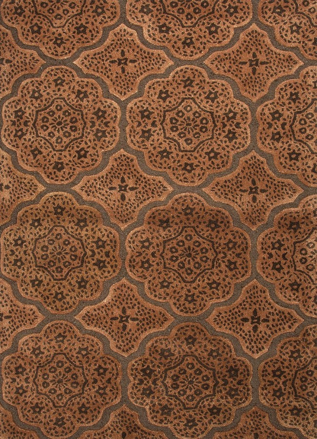 Jaipur Blue Marrakesh Express BL73 Cocoa Brown Area Rug