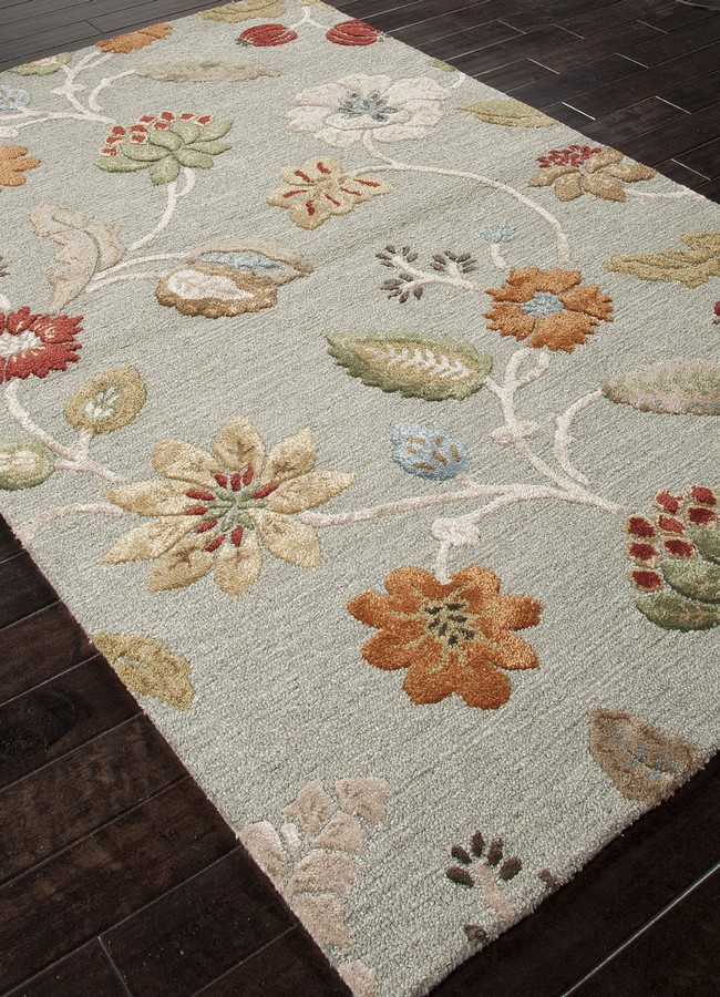 Jaipur Blue Garden Party BL83 Sea Blue Area Rug