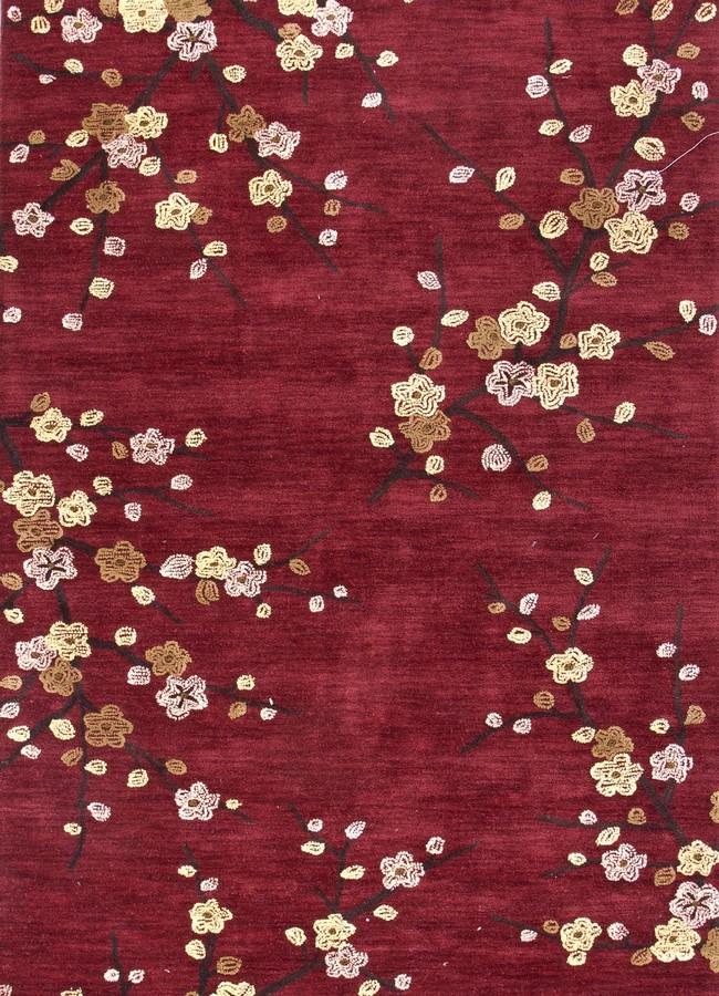 Jaipur Brio Cherry Blossom BR17 Red Area Rug