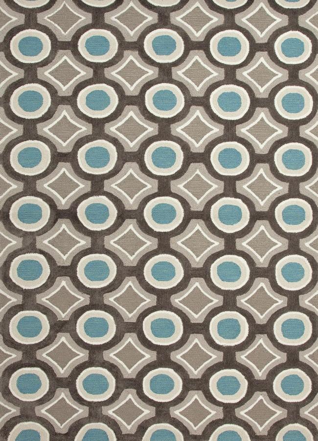Jaipur Brio Mosaic BR30 Deep Charcoal Area Rug