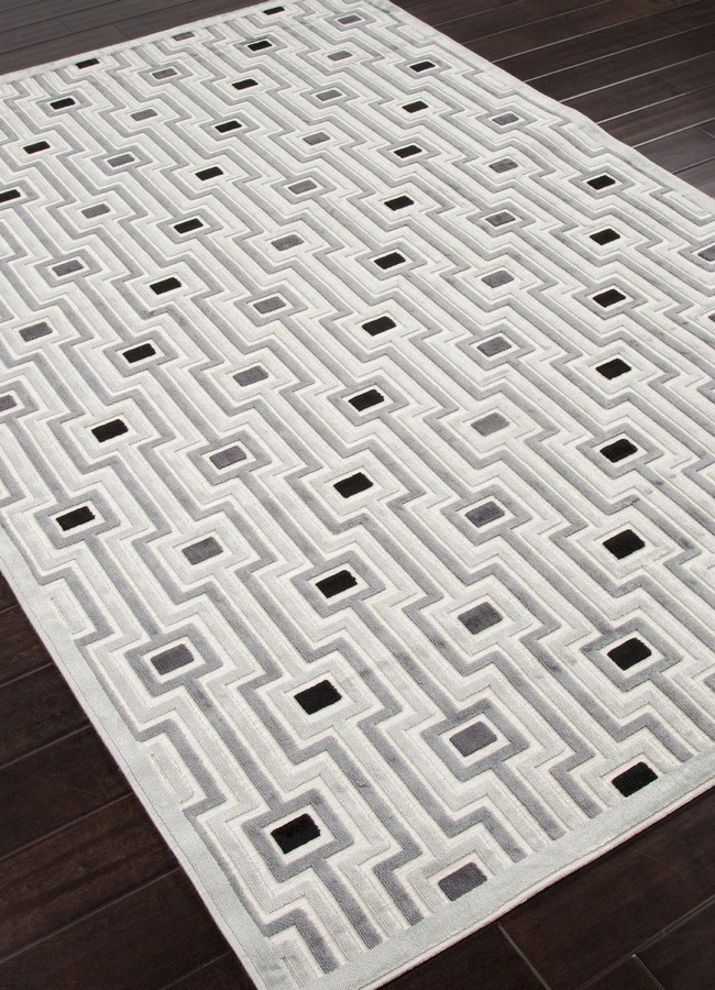 Jaipur Fables Valiant FB14 White Area Rug