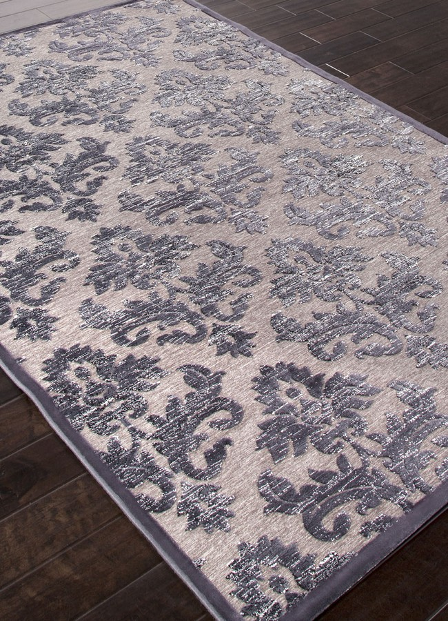 Jaipur Fables Majestic FB38 Chenille Gray Area Rug