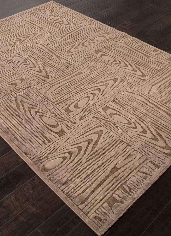 Jaipur Fables Engrain FB41 Light Brown Area Rug