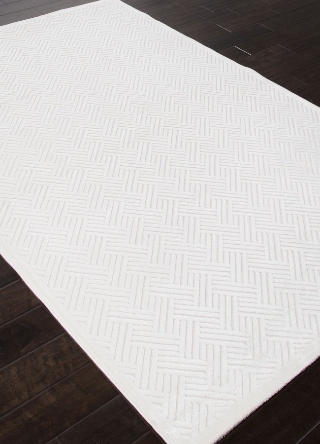 Jaipur Fables Thatch FB44 White Area Rug