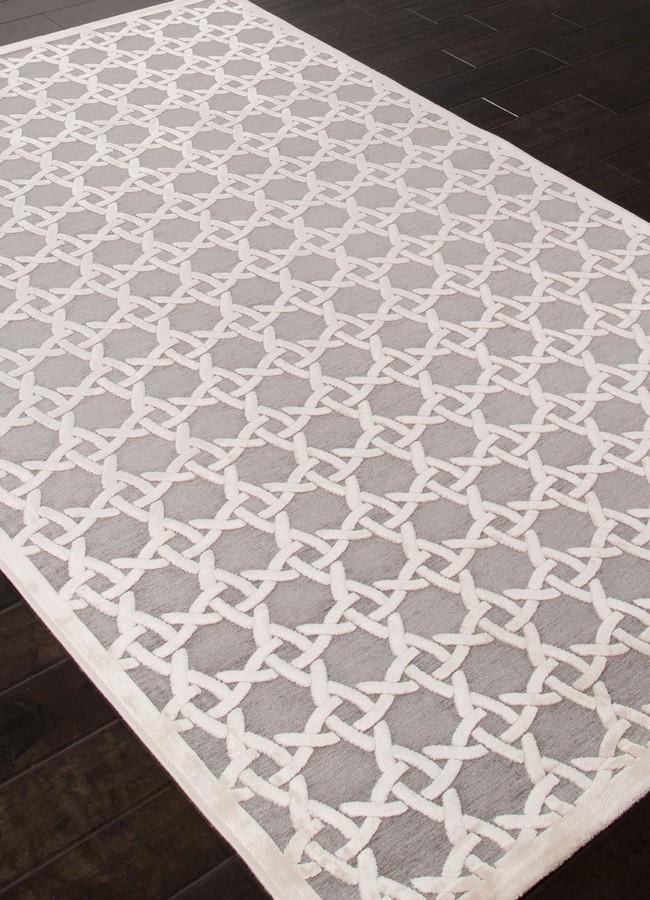 Jaipur Fables Trella FB47 Gray Area Rug