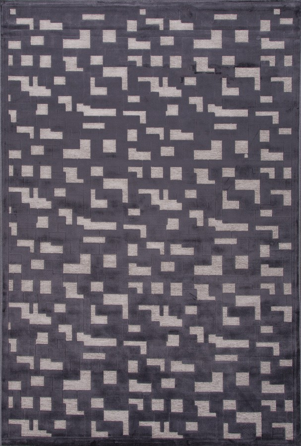 Jaipur Fables Pixel FB51 Chenille Gray Area Rug