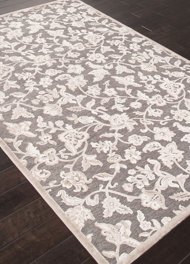 Jaipur Fables Lucie FB54 Gray Area Rug