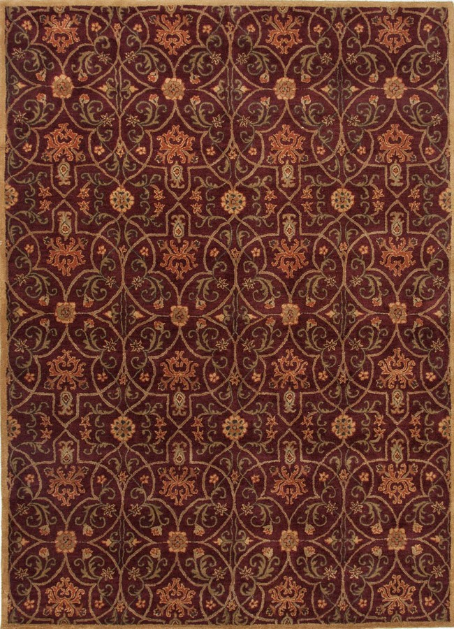 Jaipur Poeme Calais PM02 Deep Ruby Area Rug