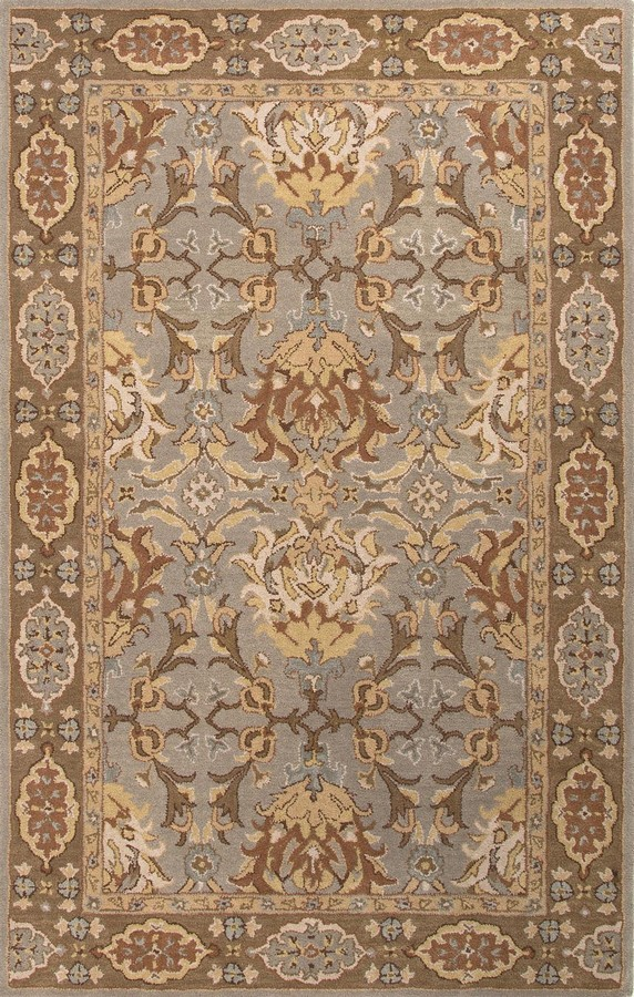 Jaipur Poeme Massiel PM101 Silver Gray Area Rug