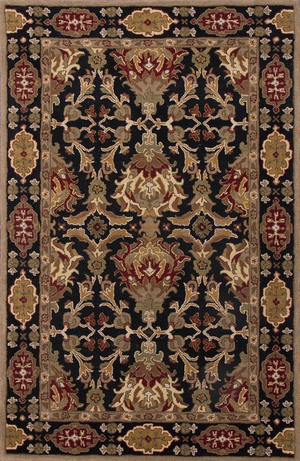 Jaipur Poeme Massiel PM110 Ebony Area Rug