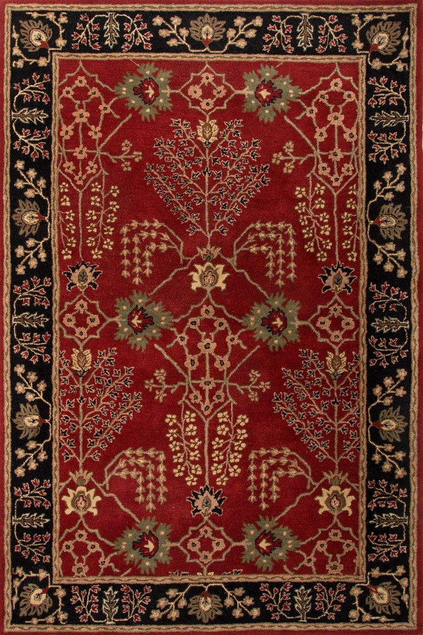 Jaipur Poeme Chambery PM111 Red Area Rug