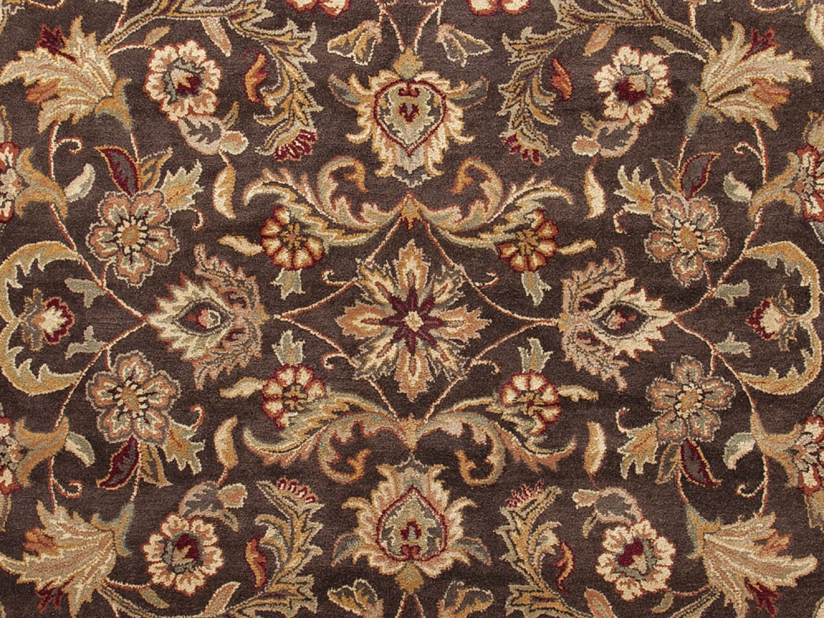 Jaipur Poeme Gascony PM39 Dark Brown Area Rug