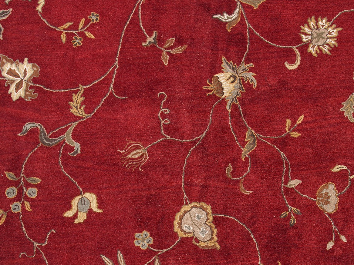 Jaipur Poeme Alsace PM41 Red Area Rug
